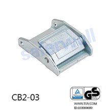 2 inch metal cam buckle for Bundling cargo