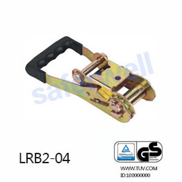 2 inch 5T ratchet buckle rubber handle tensioner