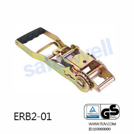 2 inch long handle adjustable ergo Ratchet buckle B.S 5000kg