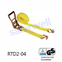 2 inch×9M BS4500kg Ratchet Tie Down lashing cargo strap