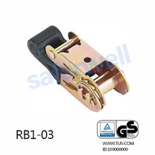 27mm 800kg plastic rubber ratchet buckle