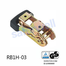 28mm Plastic Rubber Handle Ratchet Buckle For Army Marine