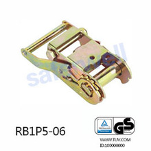 35mm 2000kg steel handle ratchet buckle (ratchet belt buckle)