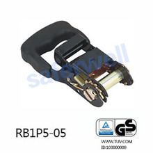 35mm Rubber PP handle ratchet buckle (ratchet belt buckle)