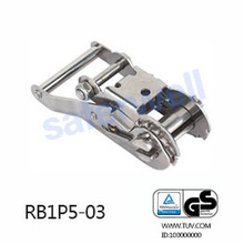 35mm Stainless Steel 304 Ratchet buckle for marine