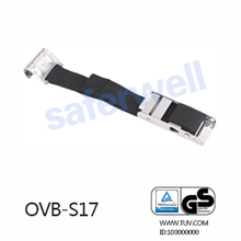 Stainless Steel Over-center Buckle Polyester Strap