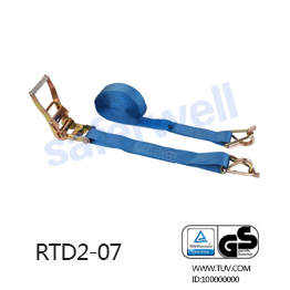 5T 10M lashing system cargo strap with double J hooks Australian quality standard