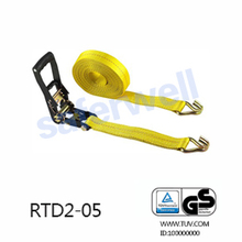 50mm 5T 12M cargo tie down with J hooks