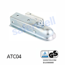 2 inch ball Maufactory OEM American Straight Trailer Coupler galvanized boat part,USA SAE. J684 Standard