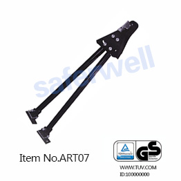 2 Inch 215 26 41inch 5000lbs Adjustable Towing Bar For Trucks