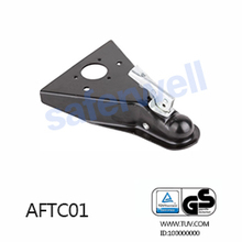 5000lbs A-Frame American Trailer Coupler Black E-coating finish boat part,USA SAE. J684 Standard