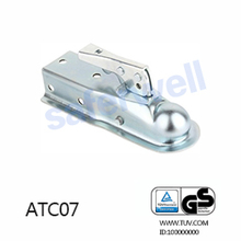 Galvanized punching trailer coupler, metal pressing trailer coupler parts