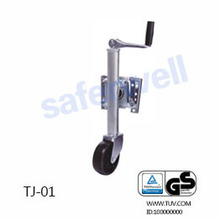 High quality trailer jack with wheel