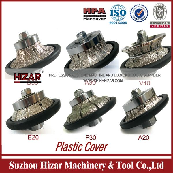 Product Bullnose Vacuum Brazed Profiling Bit Diamond