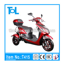 T415 500W 48V 3 wheel pro electric mobility e scooter adult tricycle for sale