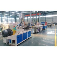 One Mould Double Pipe Extrusion Machine