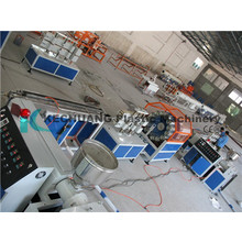 PVC Fiber Reinforced Pipe Extrusion Machine