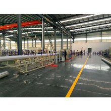 PE large diameter gas / water supply pipe production line