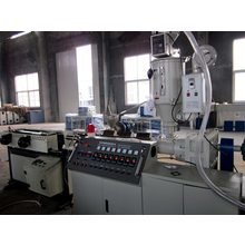 PE and PVC Single Double Wall Corrugated Pipe Production Line