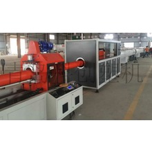 plastic pipe extrusion machine