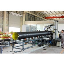 Plastic sheet Extrusion Line      plastic pipe manufacturing process