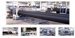 PE pipe production line product performance understanding