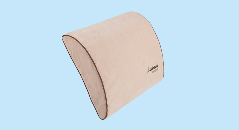 Product Memory Foam Lumbar Support Pillow Lumbar Massage