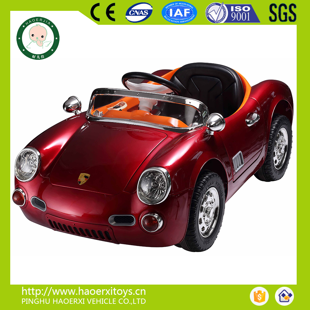 Product Plastic Material And Car Type Newest Ride On Car