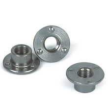 Welded round nut