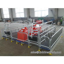 Double Farrowing crate PVC