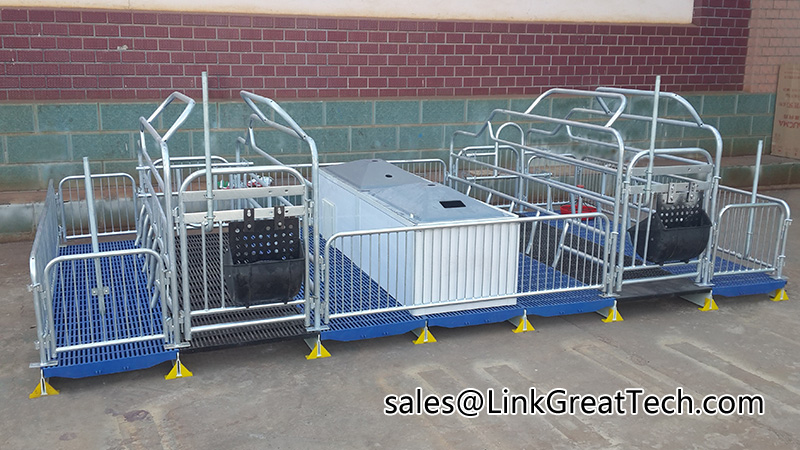 swine farrowing equipment