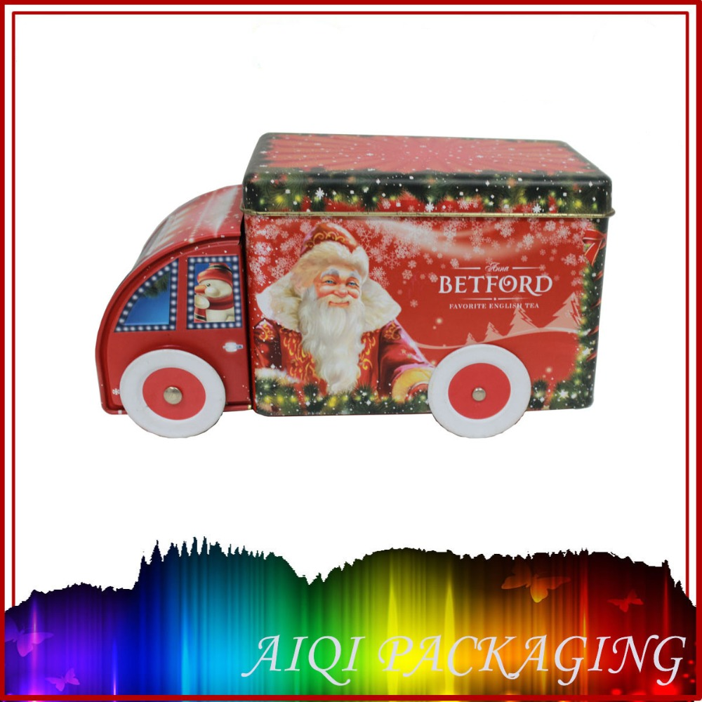 Empty Christmas Cookie Tins Wholesale