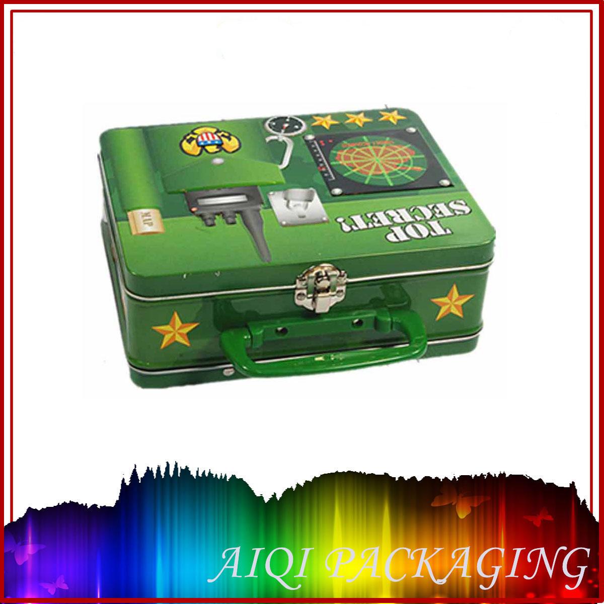 Decorative Box Lunches : Wholesale plain tin lunch box