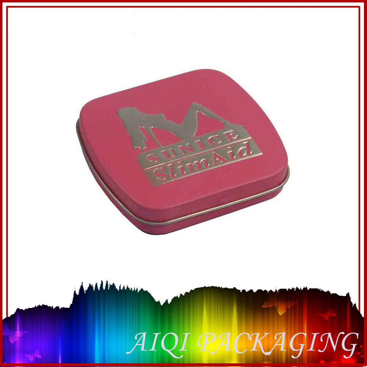small drug tin box with hinge lid ,Food Packaging Series,gift tins wholesale,tins with ...