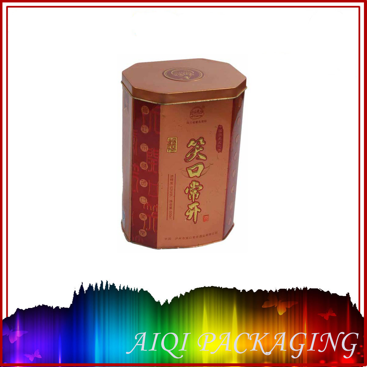 Whiskey box for wedding