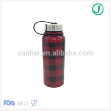 30 Oz BPA Free stainless steel Double Wall Vacuum Insulated water bottle