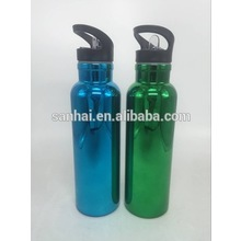 double wall vacuum insulated stainless steel wide mouth bottle with sipper