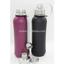 Stainless Steel vacuum Water Bottle with Tea & Ice Strainer