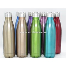 17 Oz BPA Free stainless steel colorful Double Wall Vacuum Insulated cola bottle