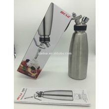 Cream Whipper (1liter /1 quart ) Professional Stainless Steel Whipped Cream Dispenser