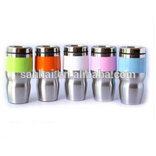 Cup cars double wall vacuum cup Stainless steel handle