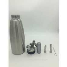 Stainless steel 1L whipped cream dispenser CW-002