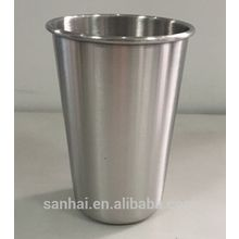 Popular 16oz stainless steel cold brew beer pint cup