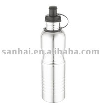 wide mouth stainless steel sports water bottle