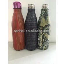 full print stainless steel colorful Double Wall Vacuum Insulated stainless steel bottle