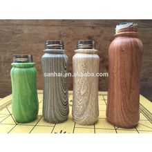 full print water transfer printing vacuum insulated vererage bottle