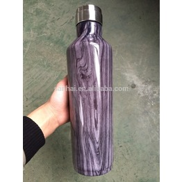 air tranfer printing double wall vacuum insulated water bottle