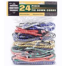24PC Tie Down Cords