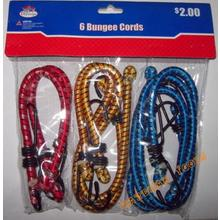 6PC Bungee Cords