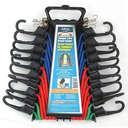 14PC Bungee Cord Assortment